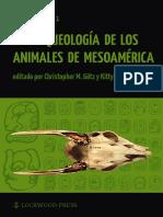 El Perro en Los Registros Arqueozoologicos Mexicanos,  Valadez Blanco Rodriguez