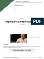 Dependencia y Teoría del Valor - Claudio Katz