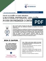 Laccueil Physique Cinq Etapes Pour Un Premier Contact Reussi