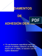 5.-Quinta Clase Fundamentos de La Adhesión Dental en Operatoria Dental