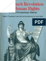 Hunt, L. (Ed.), (1996) The French Revolution and Human Rights