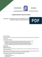 Determinacion de Los Coeficientes de Los Medidores de Flujo Placa de Orificio Venturi y Calibracion Del Rotametro
