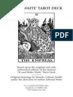 Rider Waite Tarot Deck.pdf