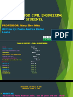 Magazine Fr Civil Engineering Students