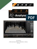Hofa Iq Analyser Manual