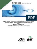 Ts 123002v130700p Network Architecture