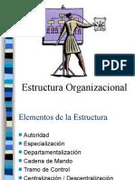 Estructura Organizacional - Diseño (1)