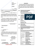 PUP OSS Form - Application for Duplicate of Lost Registration Certificate