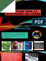243123934 Reactivos Para La Lixiviacion Del Cobre Pptx