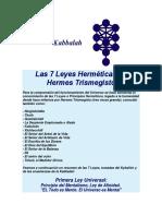 Kabbalah - Las 7 Leyes Hermeticas.docx