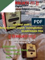 Kopi Purwaceng Dieng 0853-7021-6179
