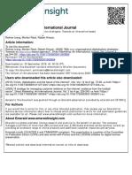 B2b Inter‐Organisational Digitalisation Strategies Towards an Interaction‐Based Approach