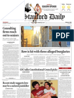 The Stanford Daily, Oct. 14, 2010