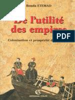 Det de Lutilite Des Empires - Etemad Bouda