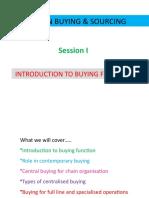 FBS Session I