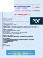 CS504 Software Engineering-1 2010 Final Term Questions Answers Solved With References by Moaaz