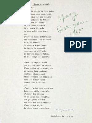 Poèmes De Meery Devergnas