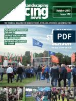 Fencing & Landscaping News - October 2010