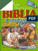 Biblia z Naklejkami Fragment