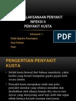 PENATALAKSANAAN_PENYAKIT_INFEKSI_II_KUSTA__KEL_7_.pptx