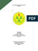Tugas Kritik Artikel Journal Dr. Kadir