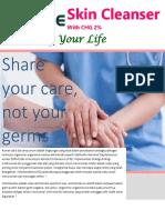 Brosur E-care Skin Cleanser Fix 31102016