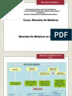 Expo 1 Minerales No Metalicos en El Perú