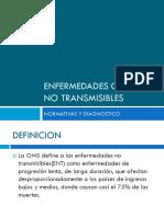 Introduccion  Enfermedades Cronicas No Transmisibles Priorizadas