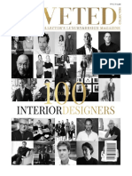 100 Interior Designer for Coveted Magazine