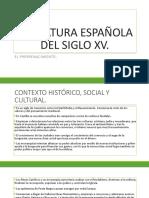 Literatura Española Del Siglo Xv