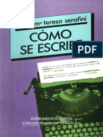 Escribe Teresa Serafini