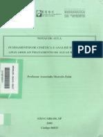 Fundamentos de Cinética e Análise de Reatores