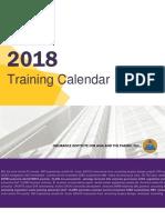 2018 i Iap Training Calendar