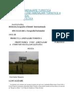 Propunerea Unei Amenajari Turistice a Comunei Olcea, Localitatea Olcea- atestat in turism