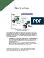 How Four Wheel Works
