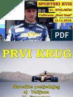 Sportski Kviz IV - Novi Grad (2018-11-12)