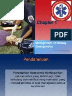 Management Of Airway Emergencies