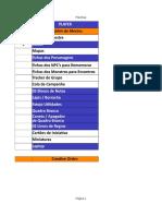 [0] Checklist Do Mestre