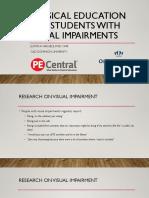 Visual Impairment Presentation