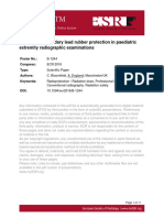 The Use of Secondary Lead Rubber Protection in Paediatric
