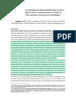 Implementación del Sistema de Responsabilidad Penal Juvenil en la Provincia de Buenos Aires