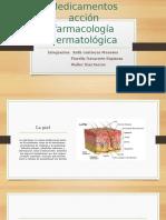 Medicamentos Acción Farmacología Dermatológica