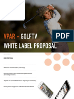 VPAR - GOLFTV - White Label Proposal