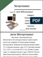 Mp-2 Jenis Mikroprosesor