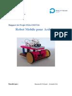 Rapport Robot Mobile Arduino