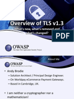 Overview of TLS v1.3
