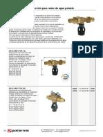 Desconectores de Proteccion Para Redes de Agua Potable