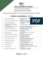 UnidadesTratamentoTabagismo MRJ 29-08-2018