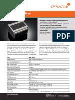 Phocos Reguladores de Carga Datasheet MPPT100 30 En