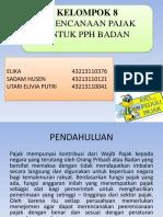 314441472-PPT-Perencanaan-Pajak-Untuk-PPh-Badan.pptx